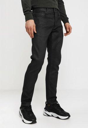 3301 SLIM - Jeans slim fit - loomer black