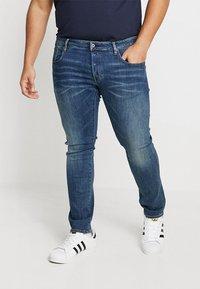 G-Star - 3301 SLIM - Jeans slim fit - elto superstretch - medium aged - 0