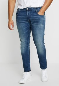 G-Star - 3301 SLIM - Jeans slim fit - higa stretch denim - medium aged - 0