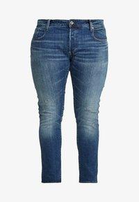 G-Star - 3301 SLIM - Jeans slim fit - higa stretch denim - medium aged - 4