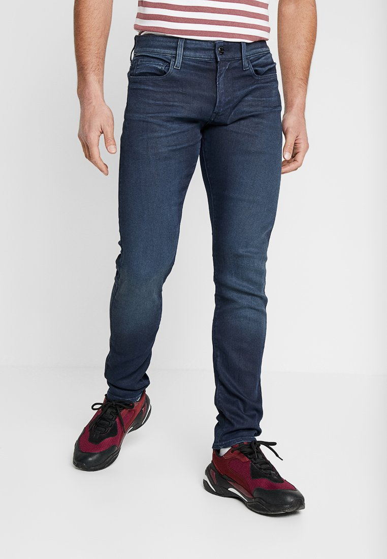 G-Star - 3301 DECONSTRUCTED SKINNY - Jeans Skinny Fit - blue denim