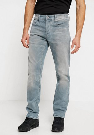 3301 STRAIGHT - Džíny Straight Fit - wess grey superstretch - medium aged