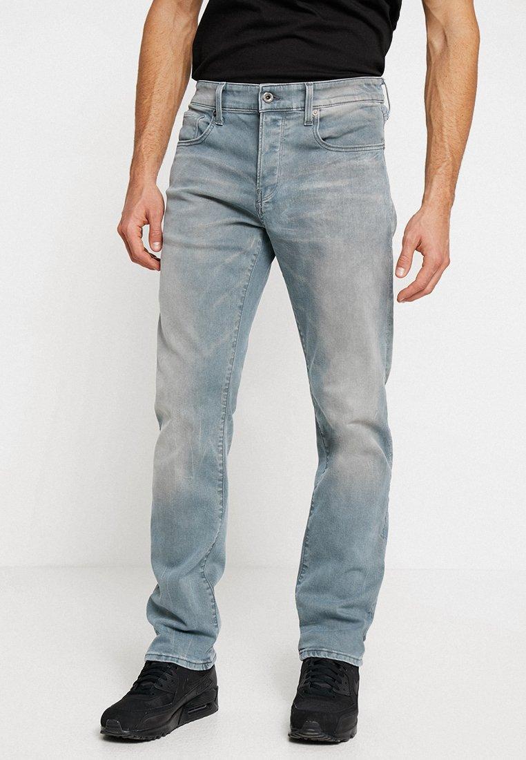 G-Star - 3301 STRAIGHT - Jeans Straight Leg - wess grey superstretch - medium aged