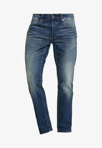 G-Star - 3301 STRAIGHT - Jeansy Straight Leg - higa stretch denim - medium aged - 4