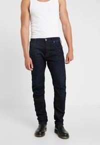 G-Star - ARC 3D SLIM - Slim fit -farkut - visor denim  dark aged - 0