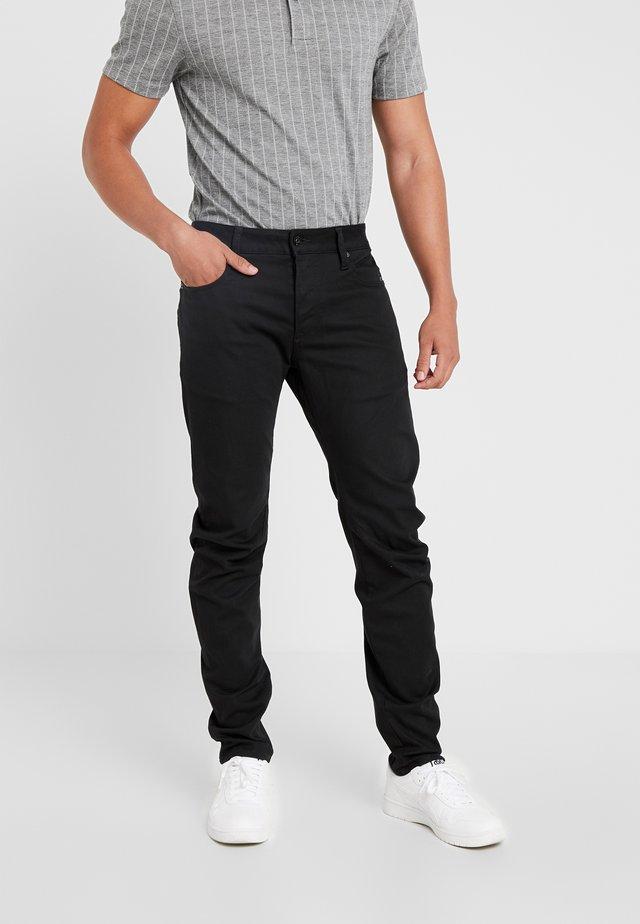 ARC 3D SLIM - Jeans Slim Fit - ita black superstretch rinsed
