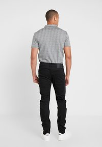 G-Star - ARC 3D SLIM - Jeansy Slim Fit - ita black superstretch rinsed - 2