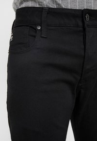 G-Star - ARC 3D SLIM - Jeansy Slim Fit - ita black superstretch rinsed - 3