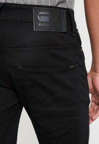 G-Star - ARC 3D SLIM - Jeansy Slim Fit - ita black superstretch rinsed - 5