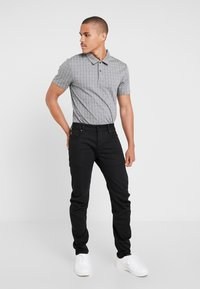 G-Star - ARC 3D SLIM - Jeansy Slim Fit - ita black superstretch rinsed - 1