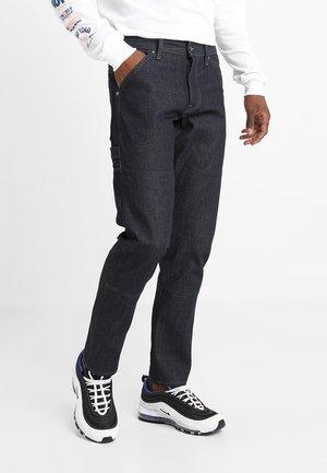 FAEROES - Jeans Straight Leg - dark blue