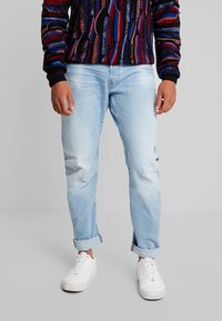 G-Star - ARC 3D SLIM - Slim fit jeans - azure stretch denim lt aged - 0