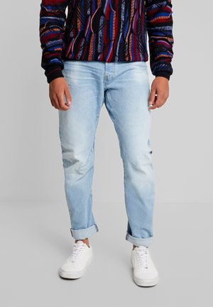 ARC 3D SLIM - Džíny Slim Fit - azure stretch denim lt aged