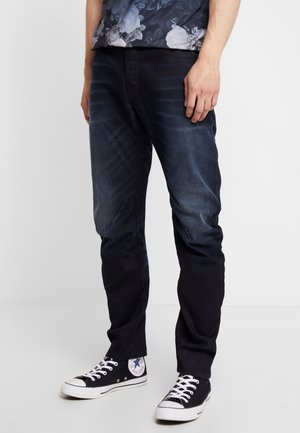 ARC 3D SLIM - Slim fit jeans - siro black denim aged
