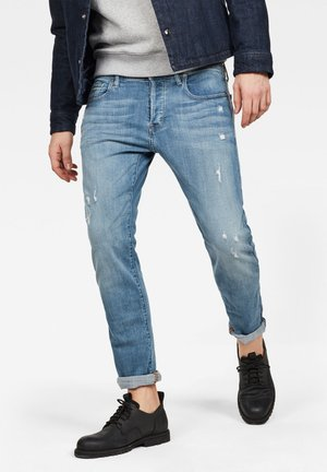 3301 SLIM - Slim fit jeans - light blue denim