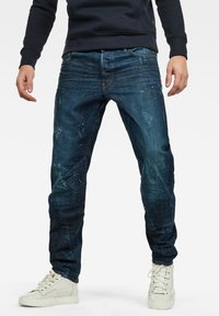 G-Star - MOTAC 3D  - Slim fit jeans - dark blue - 0