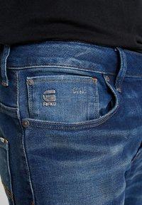 G-Star - ARC 3D SLIM FIT - Vaqueros slim fit - joane stretch denim - worker blue faded - 3