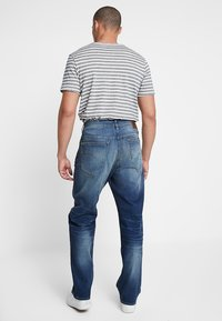G-Star - 3301 LOOSE FIT - Džíny Relaxed Fit - joane stretch denim - worker blue faded - 2