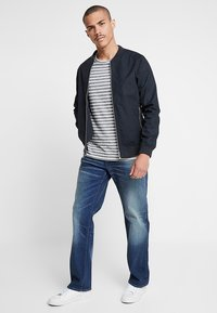G-Star - 3301 LOOSE FIT - Džíny Relaxed Fit - joane stretch denim - worker blue faded - 1