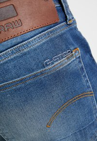 G-Star - 3301 SLIM - Jean slim - joane stretch denim worker blue faded - 6
