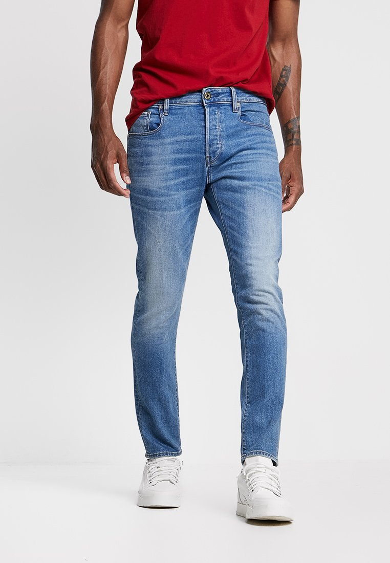 G-star 3301 Slim Fit - Jeans Authentic Faded Blue