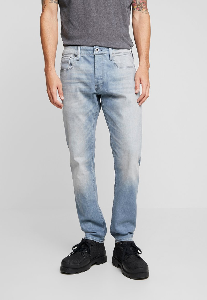 G-Star - 3301 SLIM FIT - Slim fit jeans - light-blue denim