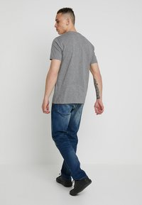 G-Star - 3301 STRAIGHT FIT - Jeans straight leg - joane stretch denim - worker blue faded