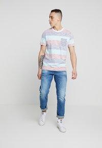 G-Star - 3301 STRAIGHT FIT - Straight leg jeans - azure stretch denim - 1