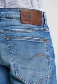 G-Star - 3301 STRAIGHT FIT - Straight leg jeans - azure stretch denim - 5