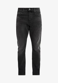 G-Star - 3301 STRAIGHT TAPERED FIT - Jeansy Straight Leg - faded charcoal - 4