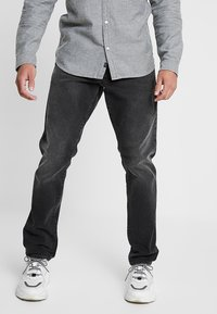 G-Star - 3301 STRAIGHT TAPERED FIT - Jeansy Straight Leg - faded charcoal - 0