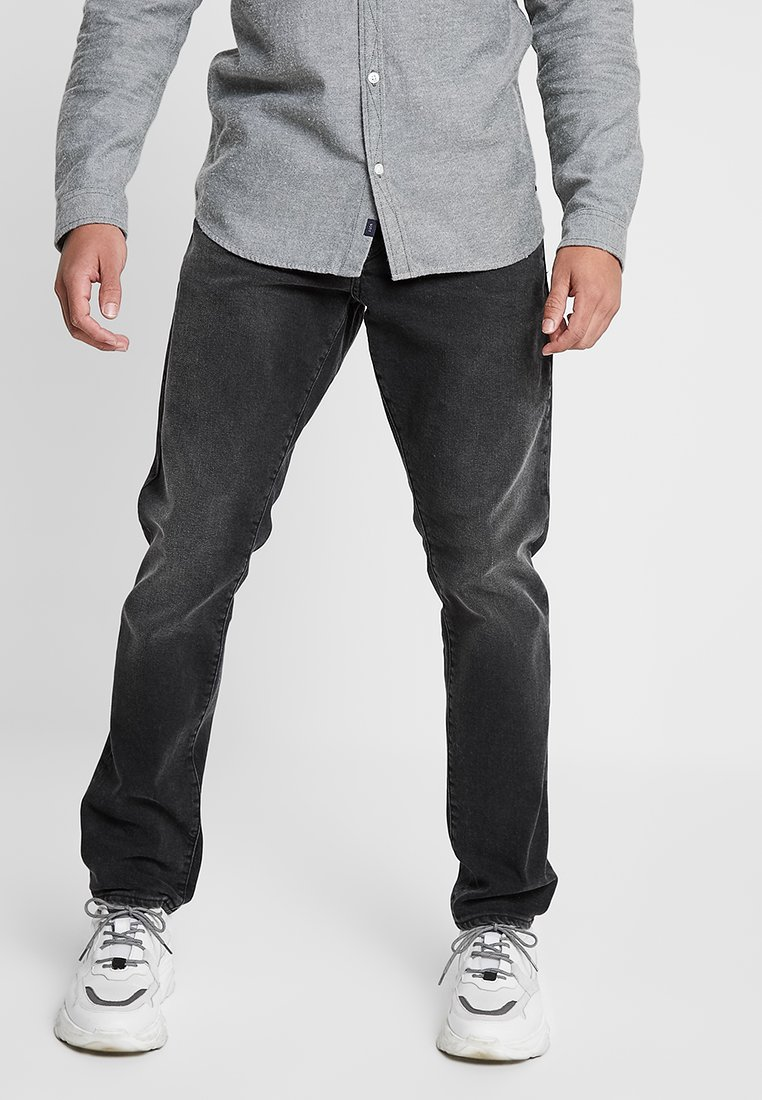 G-Star - 3301 STRAIGHT TAPERED FIT - Jeansy Straight Leg - faded charcoal
