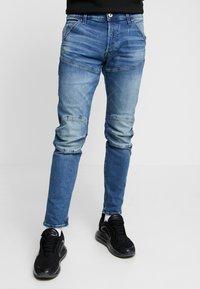 G-Star - 3D SLIM FIT - Jeans slim fit - blue denim - 0