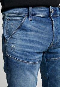 G-Star - 3D SLIM FIT - Jeans slim fit - blue denim - 5