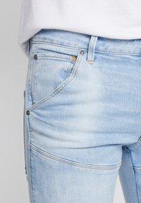 G-Star - 3D SLIM FIT - Slim fit -farkut - azure stretch denim light aged - 5