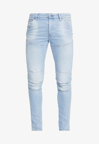 G-Star - 3D SLIM FIT - Jeans Slim Fit - azure stretch denim light aged - 4