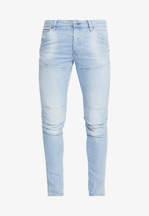 3D SLIM FIT - Slim fit jeans - azure stretch denim light aged