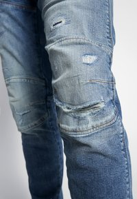 G-Star - 3D SLIM FIT - Jean slim - blue faded - 4