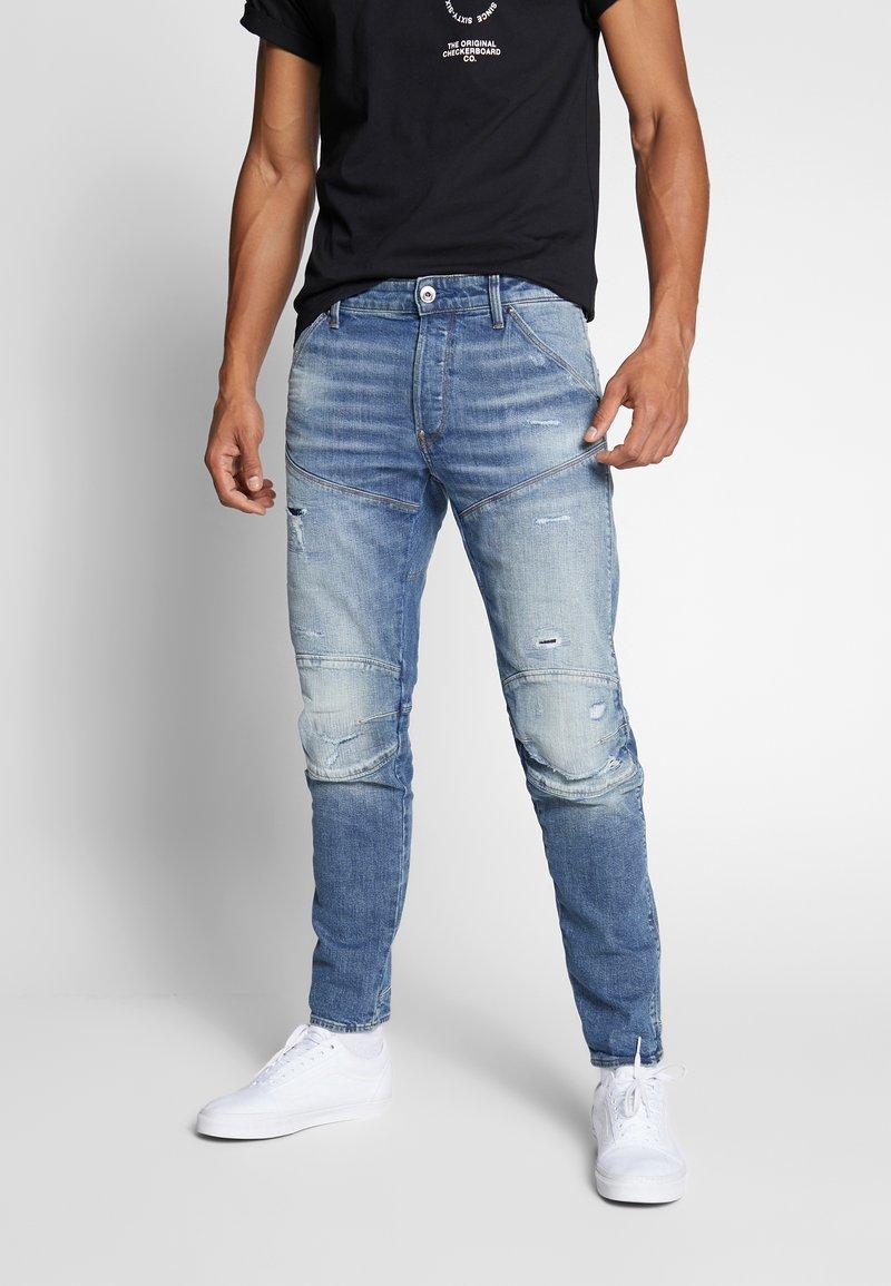 G-Star - 3D SLIM FIT - Jean slim - blue faded