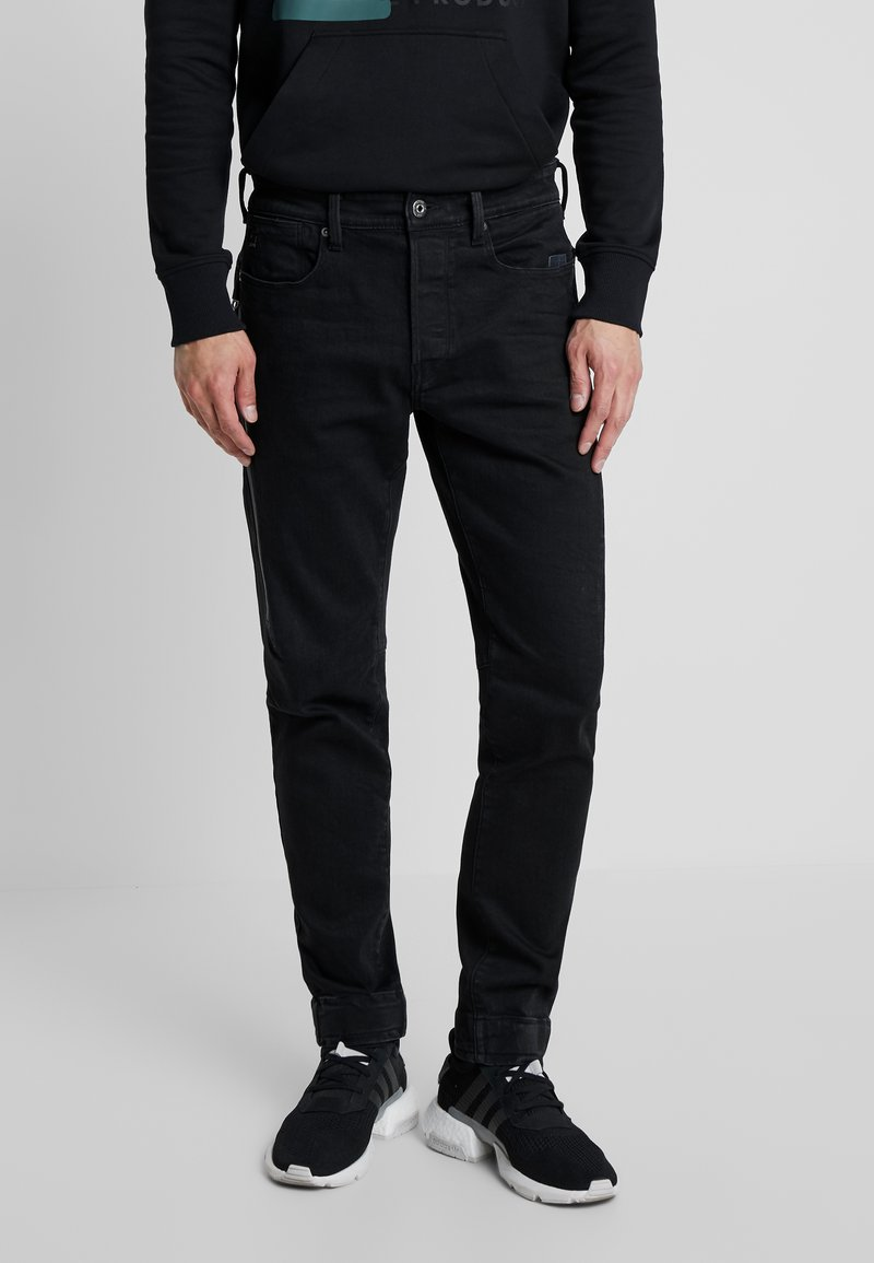 G-Star - CITISHIELD 3D SLIM TAPERED - Slim fit jeans - black denim