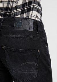 G-Star - REVEND SKINNY - Jeans Slim Fit - black denim - 4