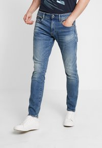 G-Star - REVEND SKINNY FIT - Jeans Skinny Fit - elto vintage azure - 0