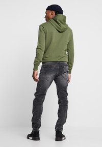G-Star - TOBOG 3D RELAXED TAPERED - Jeans Relaxed Fit - nero black/antic charcoal - 2