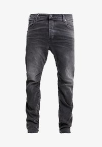 G-Star - TOBOG 3D RELAXED TAPERED - Jeans Relaxed Fit - nero black/antic charcoal - 4
