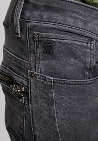 G-Star - TOBOG 3D RELAXED TAPERED - Jeans Relaxed Fit - nero black/antic charcoal - 5
