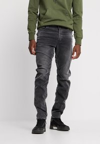 G-Star - TOBOG 3D RELAXED TAPERED - Jeans Relaxed Fit - nero black/antic charcoal - 0
