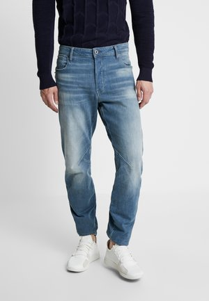 TOBOG 3D RELAXED TAPERED - Jeansy Relaxed Fit - crone stretch denim - used mineral destroy