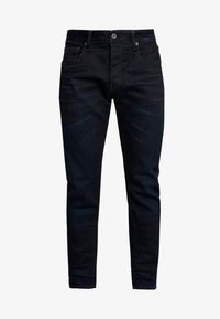 G-Star - 3301 SLIM FIT - Slim fit jeans - visor stretch denim - dk aged - 3