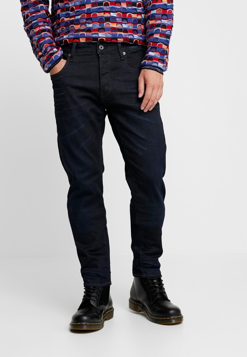 G-Star - 3301 SLIM FIT - Slim fit jeans - visor stretch denim - dk aged