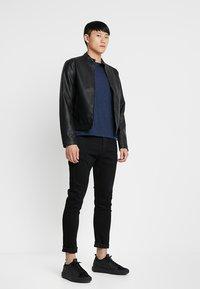 G-Star - 3301 SLIM FIT - Slim fit jeans - elto nero black superstretch/pitch black - 1